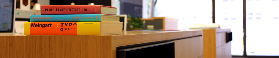 Books in our studio