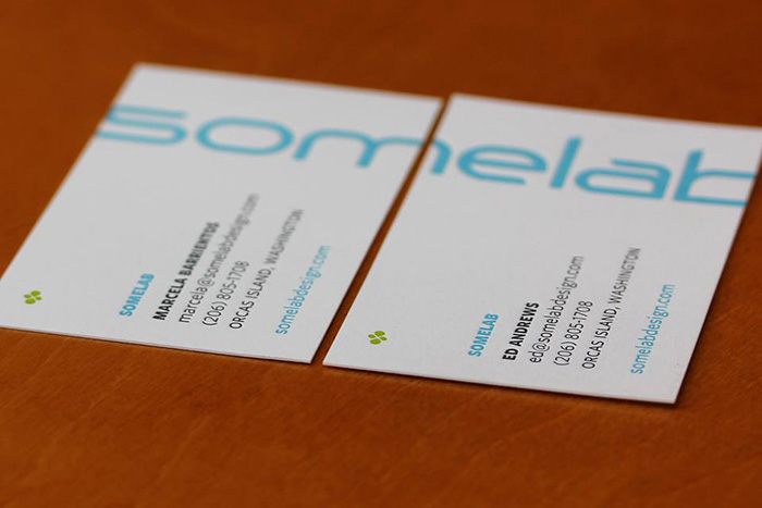 Somelab business cards
