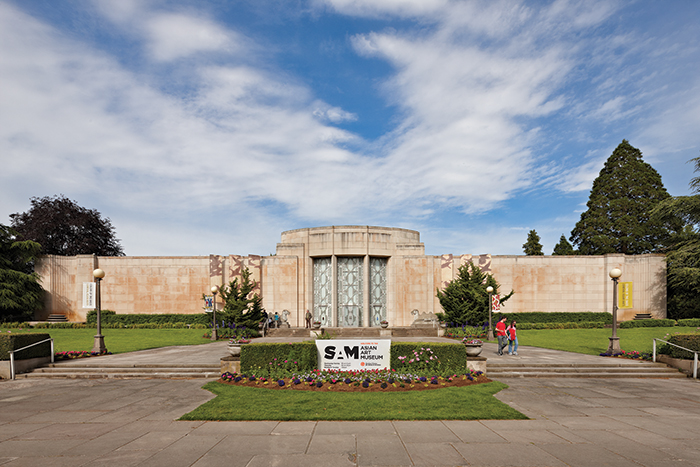 Facade of the Asian Art Museum, Seattle