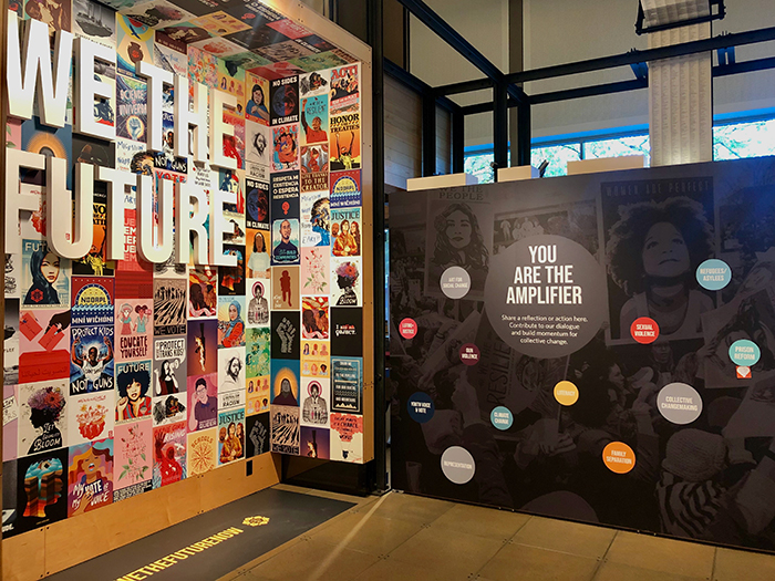 We the Future Gallery at the Gates Foundation